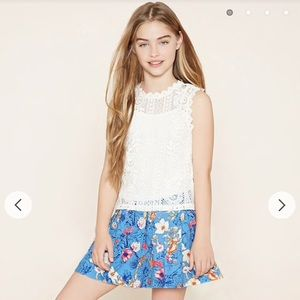Cute Floral skirt from Forever 21